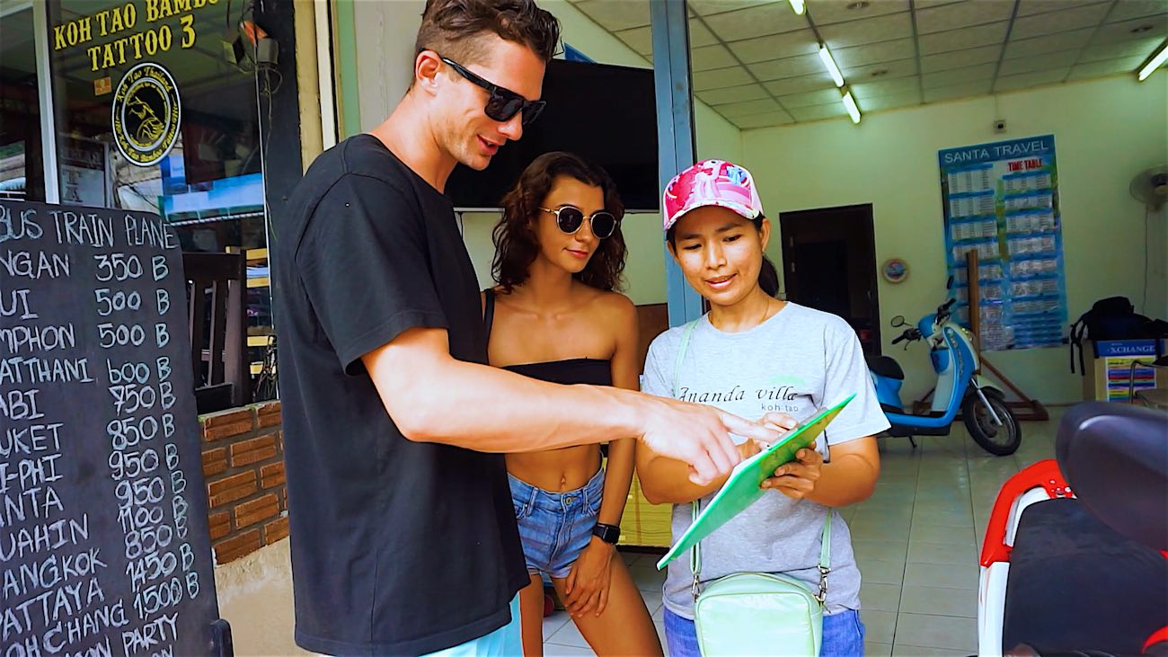 www.thefunkyturtle.com koh tao scooter rental best tips