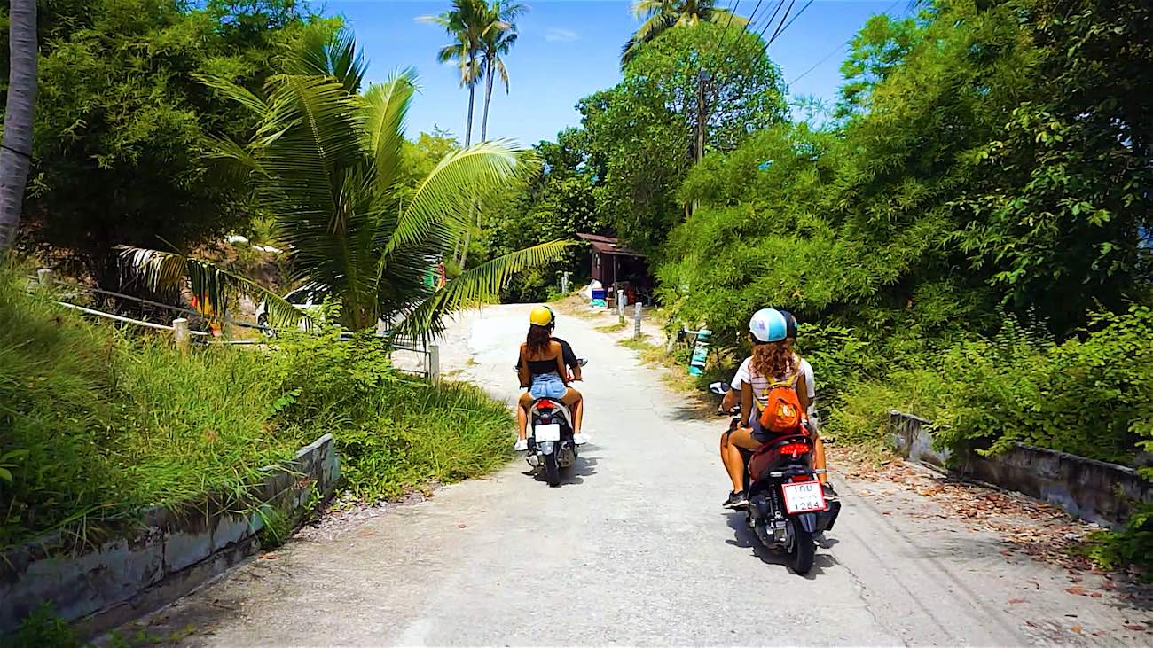www.thefunkyturtle.com trusted koh tao scooter rental