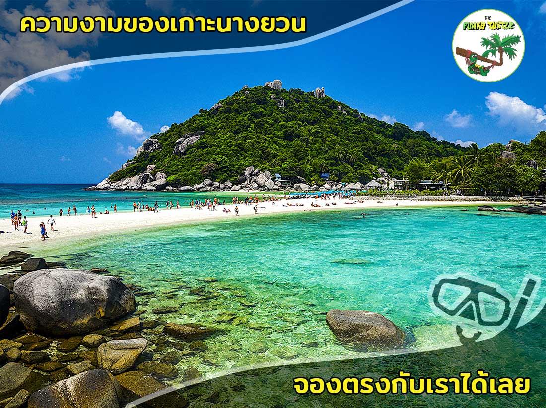 Snorkeling on beautiful Koh Nang Yuan