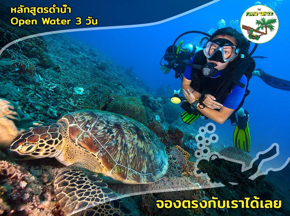 PADI Water diver course Koh Tao